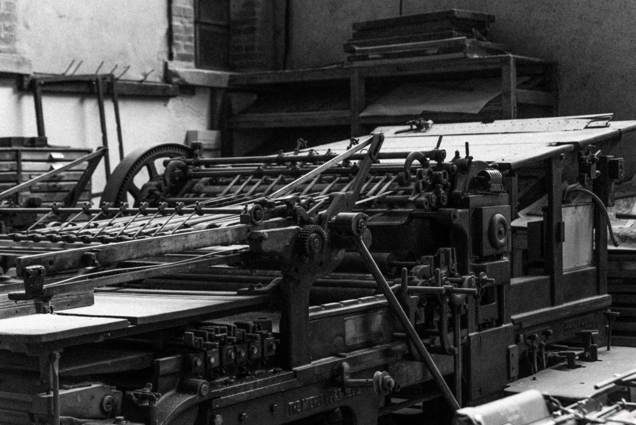 Photographe Reportage Illustration Reims, shooting photo des vieux Métiers, Anciennes imprimeries