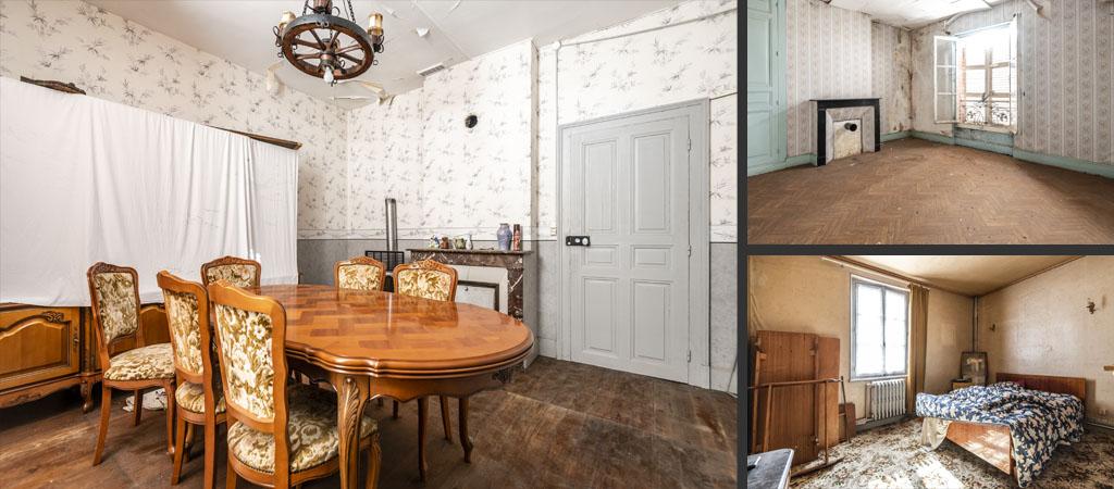 photographie maison à rénover - photographe immobilier reims