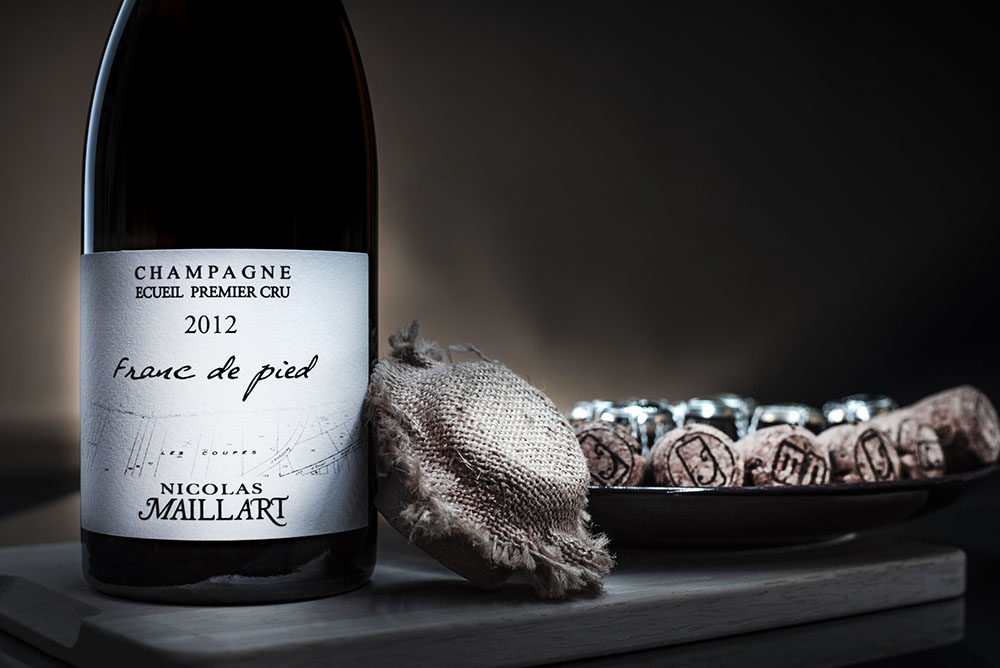 photographe bouteille champagne reims